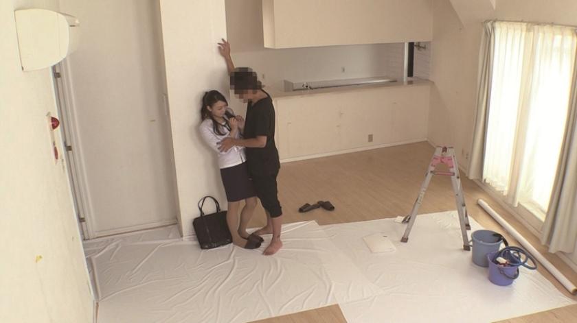 【密室】内見中に不動産屋のお姉さんとやっちゃったSEX映像 あおいれな 佐々木莉那 今井ゆあ の画像6