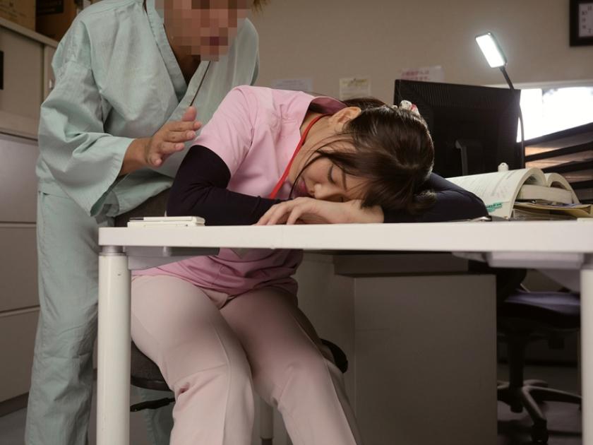 夜勤中に居眠りしている看護師を夜這いしちゃった俺 6 かなで自由 真田美樹 浜崎真緒 の画像11