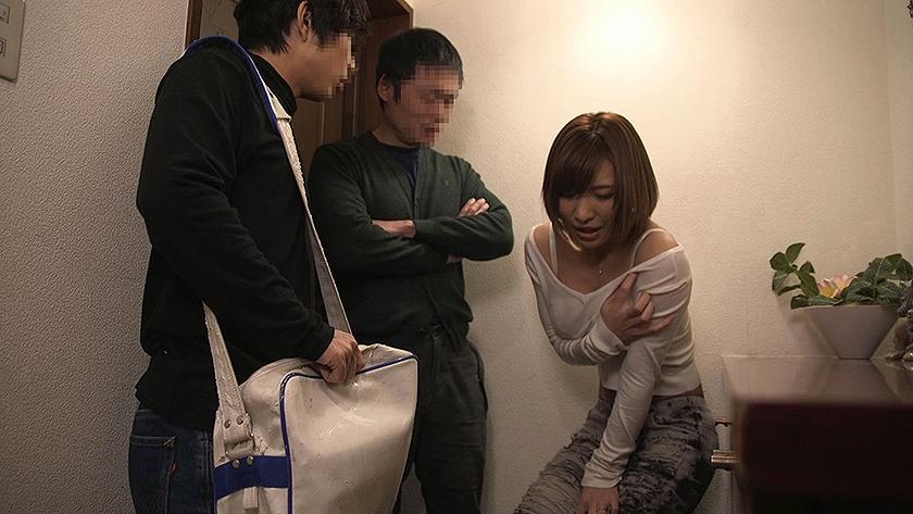 『ナマ』という言葉に異常反応する隣の敏感妻。 旦那にバレないように寝取る!(NTR) 若槻みづな 水城奈緒 夏希みなみ の画像18