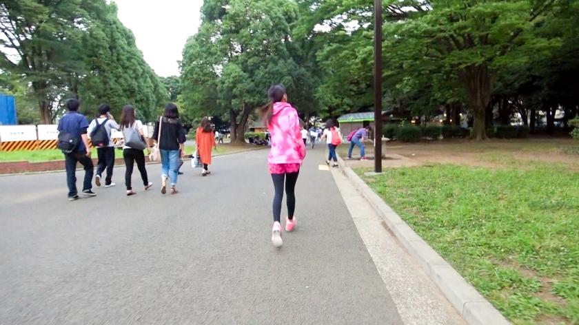 ジョギングナンパ 12 in 代々木公園