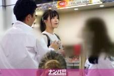 マジ軟派、初撮。 1386 渋谷で捕まえた超絶美少女をインタビューのテイでホテルに連れ込み!エッチな雰囲気に流されてセックス開始!ハードピストンに『もっとぉおお!!』と絶叫しながらイキまくるスケベ素人娘♪ かのん 21歳 大学3年生 200GANA-2150画像