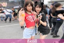 日本最大級のEDMフェスでナンパしたJD2人組!イベントサークル同士の交流と称しホテルに連れ込み酒を飲ませてフニャフニャにさせたら、秘密の4Pフェス開催♪ ひかる 20歳 大学生/るい 20歳 大学生 200GANA-2167画像