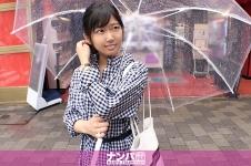マジ軟派、初撮。 1502 雨の秋葉原で自ら傘を壊してみた!心配して声をかけてくれた優しさ溢れる京都弁美少女!独り身の寂しさに付け込んで詰め寄ると…?普段は穏やかだけど、気持ち良くなると大きな声になっちゃうのが愛くるしい♪ なな 23歳 OL 200GANA-2314画像