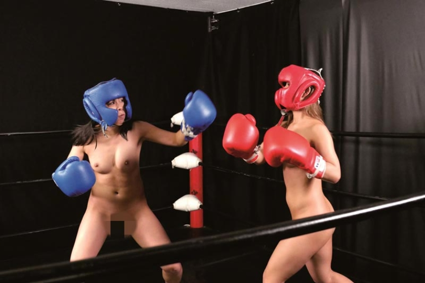 ガチンコ全裸女子ボクシング 咲坂花恋 冴木エリカ の画像3