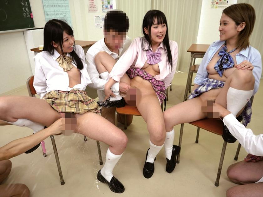 ヤリマンビッチ平然女学園 3 椎名そら 宮崎あや あおいれな の画像10