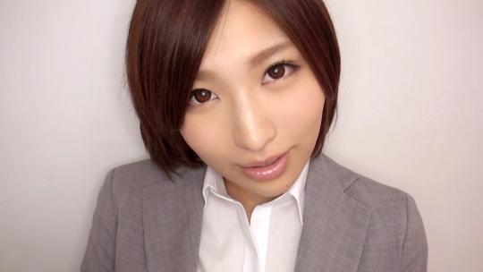 こんな美人OLさんとのエッチを撮影できたのは鈴村あいりちゃん以来の大収穫です!
