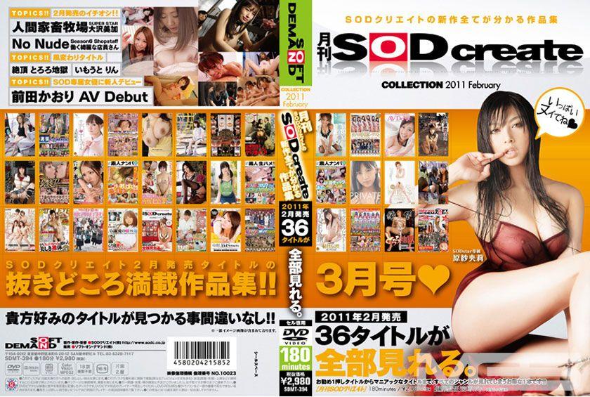 月刊 SOD create COLLECTION 2011 FEBRUARY