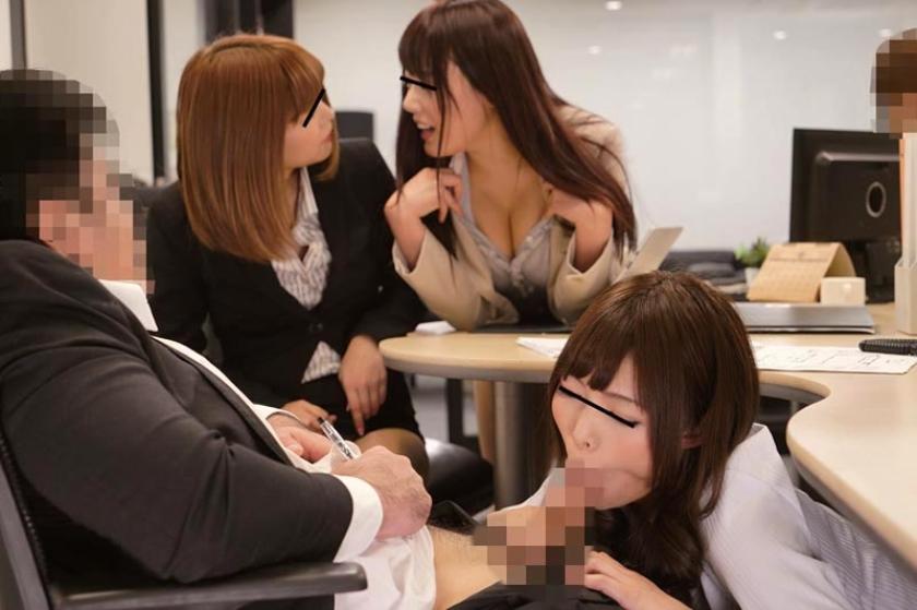 ヤリマン女子社員に狙われた僕!あの手この手でギン勃ちさせられ、机の下でくわえこんで放さない。社内で即ハメを求めてこられ僕は先輩女子社員の性奴隷にされちゃった の画像4