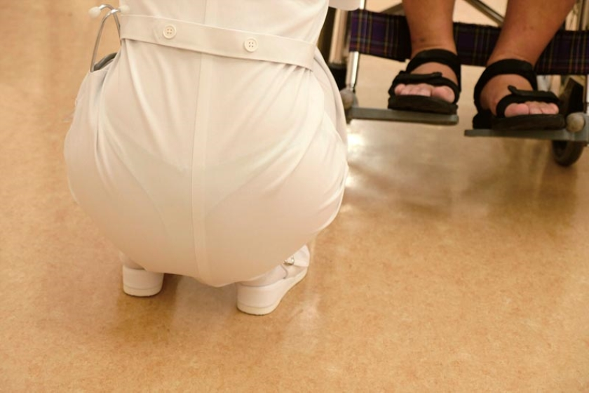 膣奥が好きです・・・。何度も何度も突かれて中イキ連続絶頂する看護師 紗々原ゆり の画像10