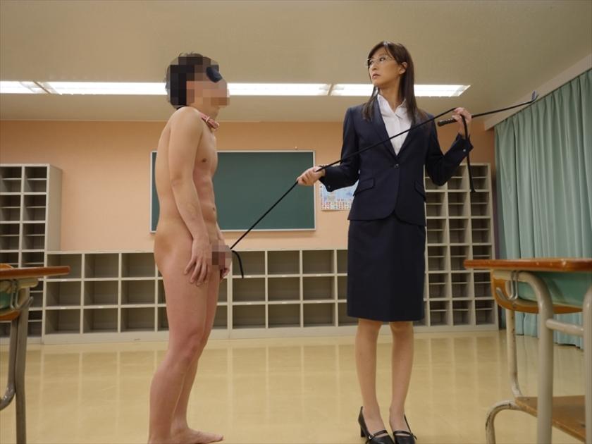M男遊戯学園生活 神波多一花が女教師や部活の先輩になって男子をM男に調教してゆくのサンプル画像14