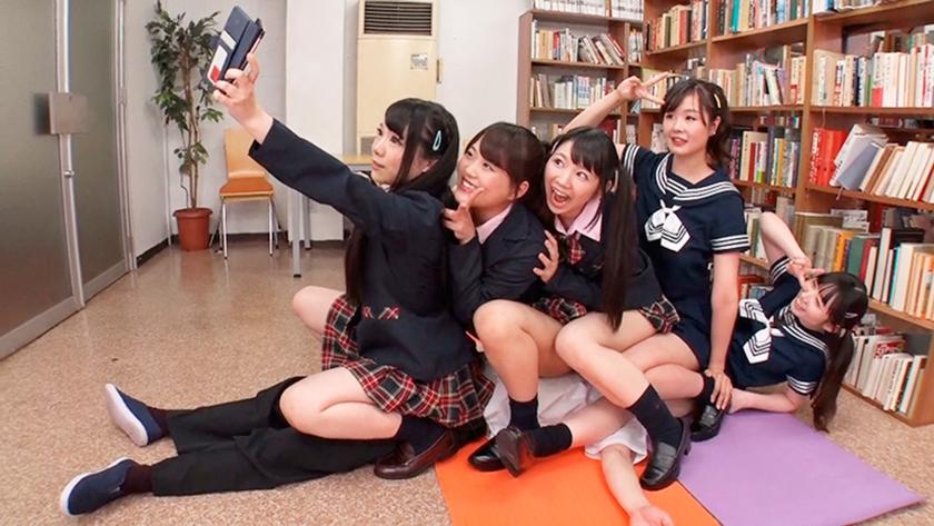 私立腿コキ学園 3 水ト麻衣奈 熊宮由乃 一ノ瀬恋 白井ゆずか 久我かのんのサンプル画像12
