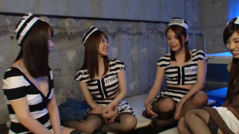 エロすぎる監獄美女たちが誘惑中出しSEXで脱獄した件 花咲いあん 五十嵐星蘭 篠田ゆう 早川瑞希