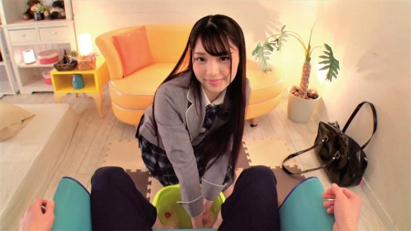 絶対イチャラブ宣言!完全主観 妹制服リフレ VOL.001 松本いちか 花沢ひまり 跡美しゅりのサンプル画像10