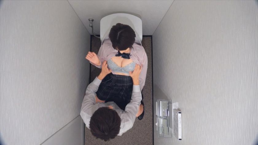 女子○生 トイレSEX盗撮 2のサンプル画像11