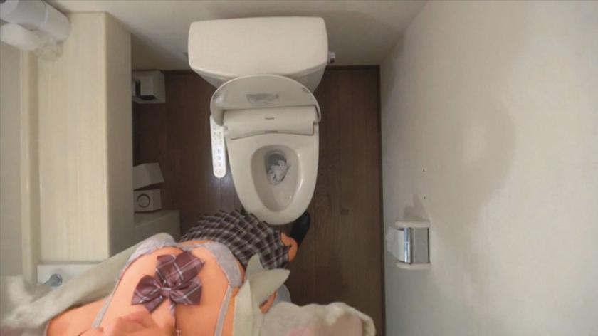 女子○生 トイレSEX盗撮 2のサンプル画像17