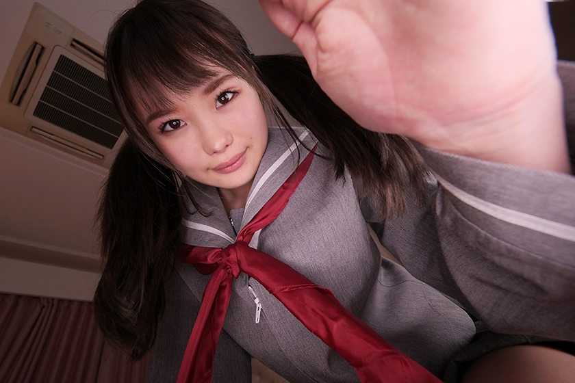 【VR】僕の彼女はちょっとHなロリっ娘姉妹 松本いちか 丘えりなのサンプル画像10