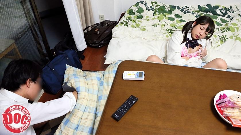 【配信専用】こたつの中で超・展・開 無防備美女が濃厚SEX!!超長尺13時間!!