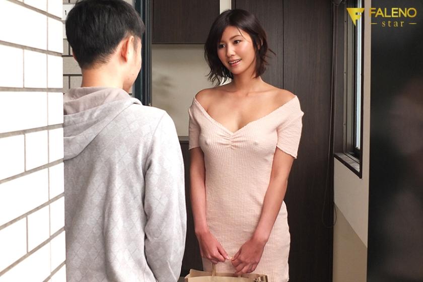 隣の神乳お姉さんは常にノーブラ透け乳首で、彼氏に隠れてこっそり僕を誘惑してくる 美乃すずめのサンプル画像3