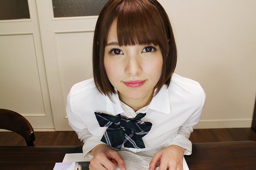 【VR】見つめておねだり!美少女 女子●生 坂咲みほとイチャラブ ぬぷぬぷ中出しSEX!のサンプル画像1