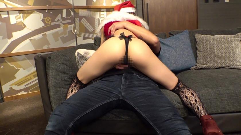 六〇木キャバクラ現役ギャル嬢(22)をクリスマスナンパ!!生意気マ〇コを泥酔させて大量潮吹きww駅弁から顔射まで屈服SEXフルコースでデカチン沼にハメちゃいました♪-エロ画像-3枚目
