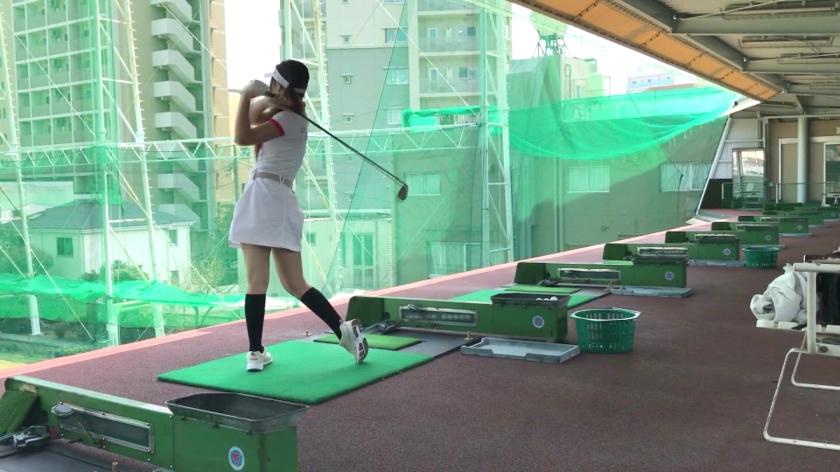 【スポーツ女子】太客に買ってもらった勢いでゴルフ始めたスポーツ女子ハメ撮り☆赤坂のキャバクラ勤務な敏感マ〇コを持つるうちゃん!!_pic0
