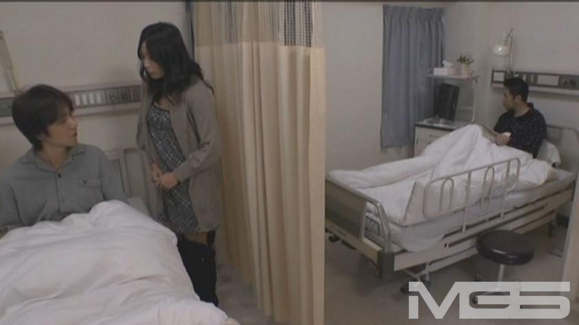 あなた、やめてっ! お願い、こんな所でっ!! 嫌がる妻をベットに引きずりこんで中出しっ!! ~病院編~ の画像5