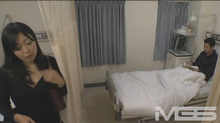 あなた、やめてっ! お願い、こんな所でっ!! 嫌がる妻をベットに引きずりこんで中出しっ!! ~病院編~ の画像4