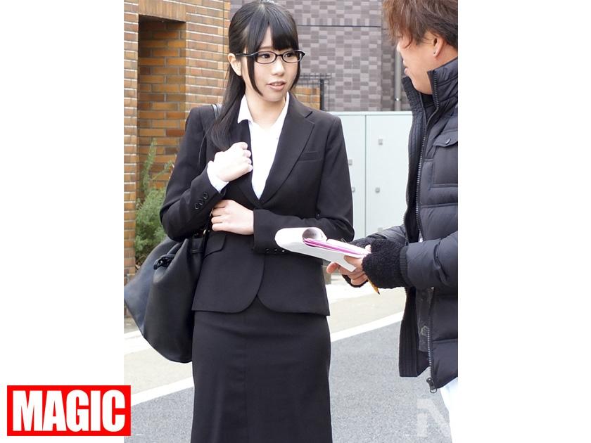 マジックナンパ! Vol.34 新入社員限定ナンパ リクルートスーツを着たひよっ子新人OLに社会の厳しさ教えます!! の画像6