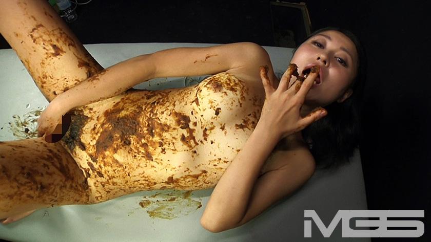 喉も膣も糞まみれ 脱糞食糞オナニーのサンプル画像2