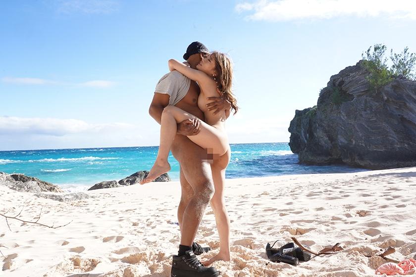 カリブ海で出会った巨マラ黒人との人生最高のセックス!七瀬ひな4