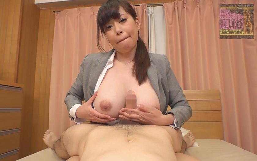 常に乳首をイジイジレロレロしてくれるデリヘル嬢 エリコさん(28) Kカップ105cm 中西江梨子