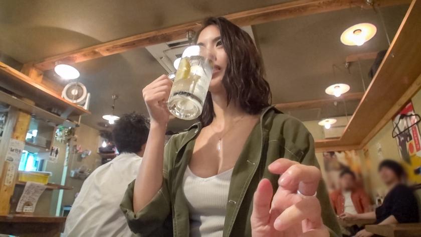 【素人ナンパ】アパレル店員のスレンダー美女♡高速ピストンのイキまくり陵辱SEX!!
