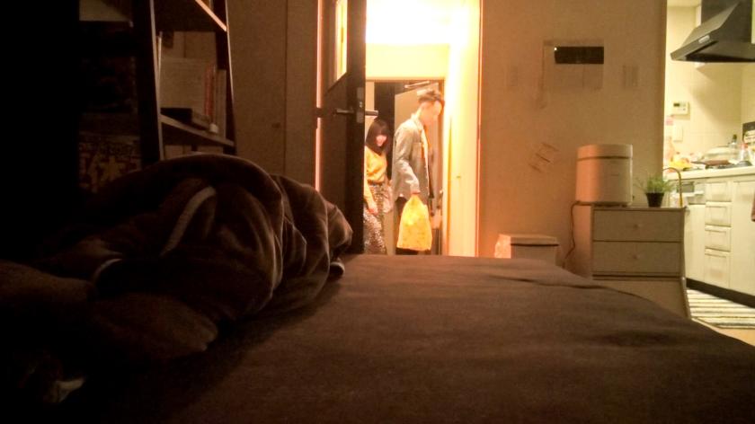 百戦錬磨のナンパ師のヤリ部屋で、連れ込みSEX隠し撮り 107-エロ画像-1枚目