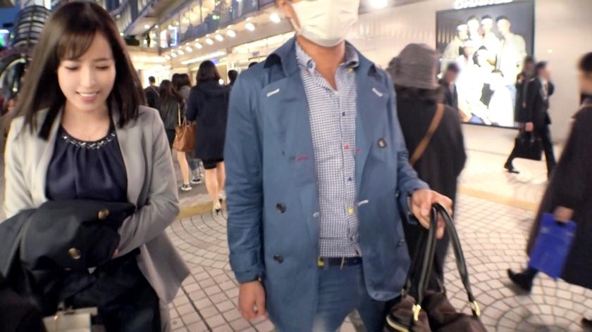 マジ軟派、初撮。 1322 新宿で見つけた縁起良き名前の美女「れいわ」さん♪酒で酔わせてホテルに連れ込み、ストッキング引き裂いて豪快潮吹き♪スレンダーな体型が際立つ立ちバックは必見!!-エロ画像-1枚目