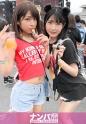 皆月ひかる,柊るい - 日本最大級のEDMフェスでナンパしたJD2人組!イベントサークル同士の交流と称しホテルに連れ込み酒を飲ませてフニャフニャにさせたら、秘密の4Pフェス開催♪