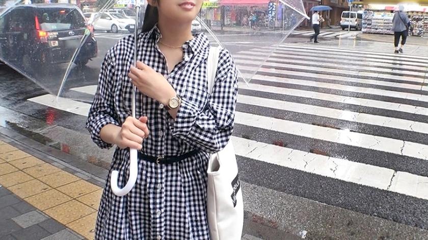 マジ軟派、初撮。 1502 雨の秋葉原で自ら傘を壊してみた!心配して声をかけてくれた優しさ溢れる京都弁美少女!独り身の寂しさに付け込んで詰め寄ると…?普段は穏やかだけど、気持ち良くなると大きな声になっちゃうのが愛くるしい♪_pic0