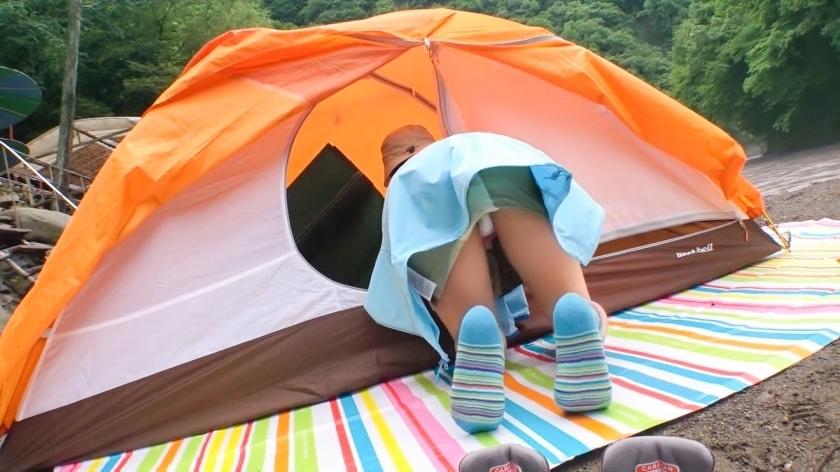 マジ軟派、初撮。 1508 ソロキャンプ女子をナンパに成功!自然の中の開放感溢れるセックスで失恋も忘れて夢中で巨乳を揺らし腰を振る…!_pic0