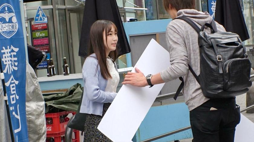 マジ軟派、初撮。 1554 新宿で映える美少女を確保!経験人数2人のほぼ処女!大人の階段をチ●ポで感じて階段を駆け上がろう♪スベッスベの超絶美尻をさらして乱れまくる!1