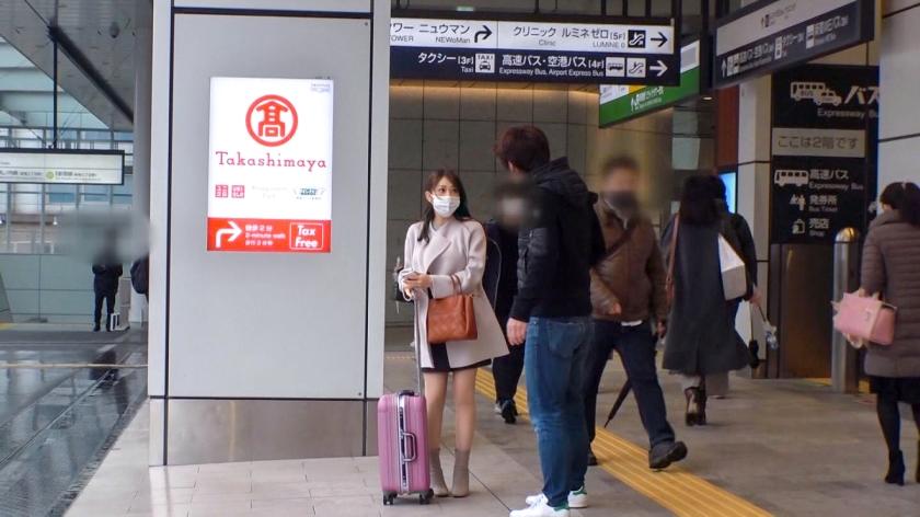 マジ軟派、初撮。 1598 福岡から東京へやって来たのに宿無しになってしまった女子大生をホテルへ連れ込み!押しに弱くて受け入れてしまったSEXで良反応連発!時折飛び出す方言に萌えろ!!のサンプル画像2