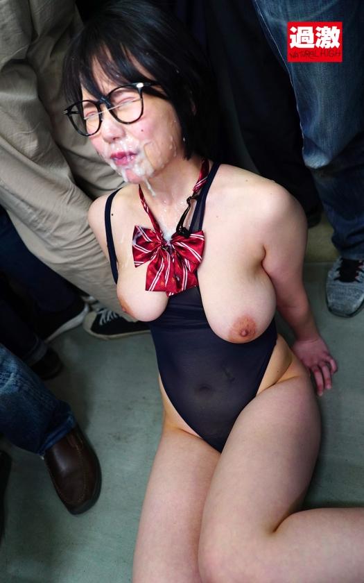 敏感(恥)巨乳痴漢2021 メガネ女子○生(推定Hカップ)/パイスラJD(推定Fカップ)