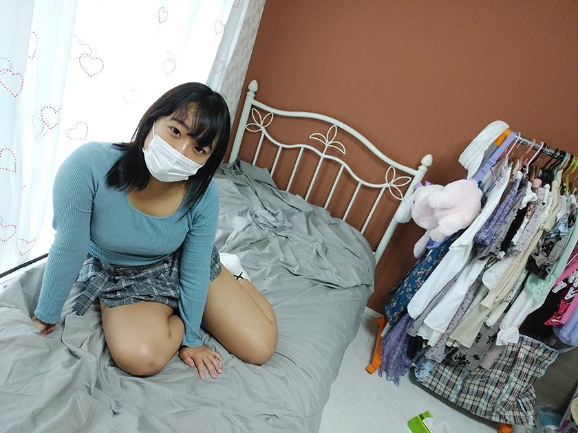 マスク着用を条件に撮影を了承してくれた普通の女子大生 あかねちゃん 21歳0