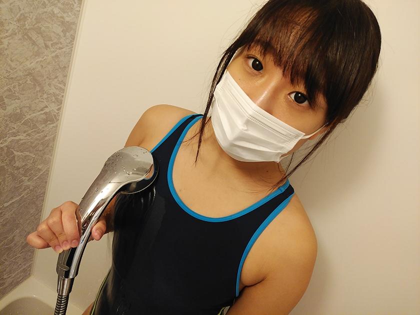 マスク着用を条件に撮影を了承してくれた普通の女子大生 あかねちゃん 21歳10