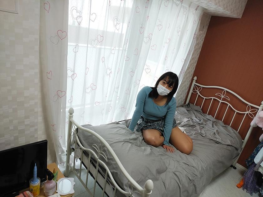 マスク着用を条件に撮影を了承してくれた普通の女子大生 あかねちゃん 21歳1