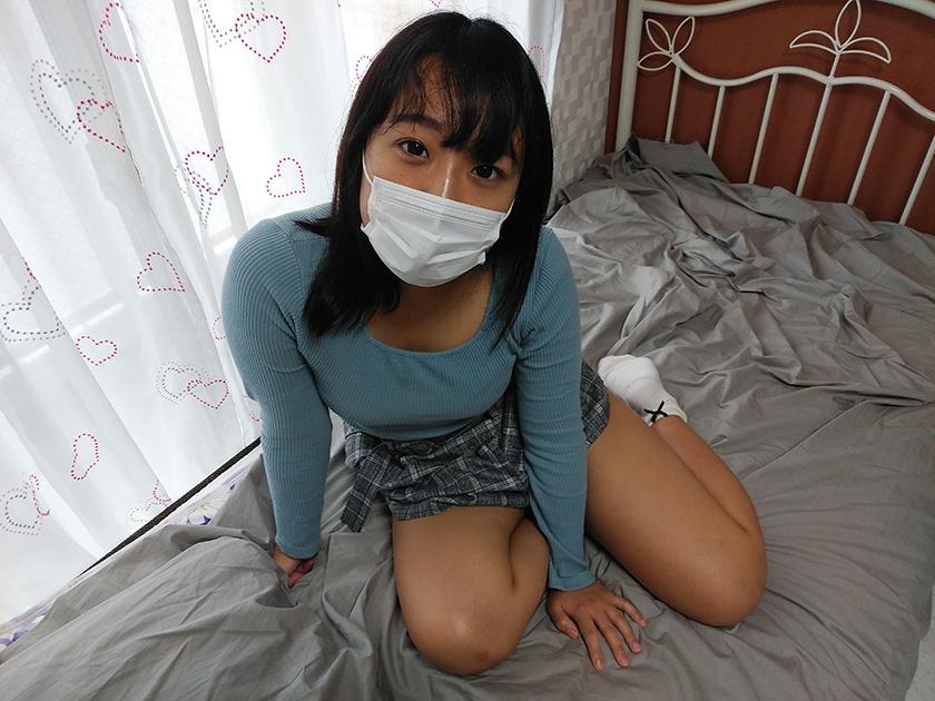 マスク着用を条件に撮影を了承してくれた普通の女子大生 あかねちゃん 21歳3