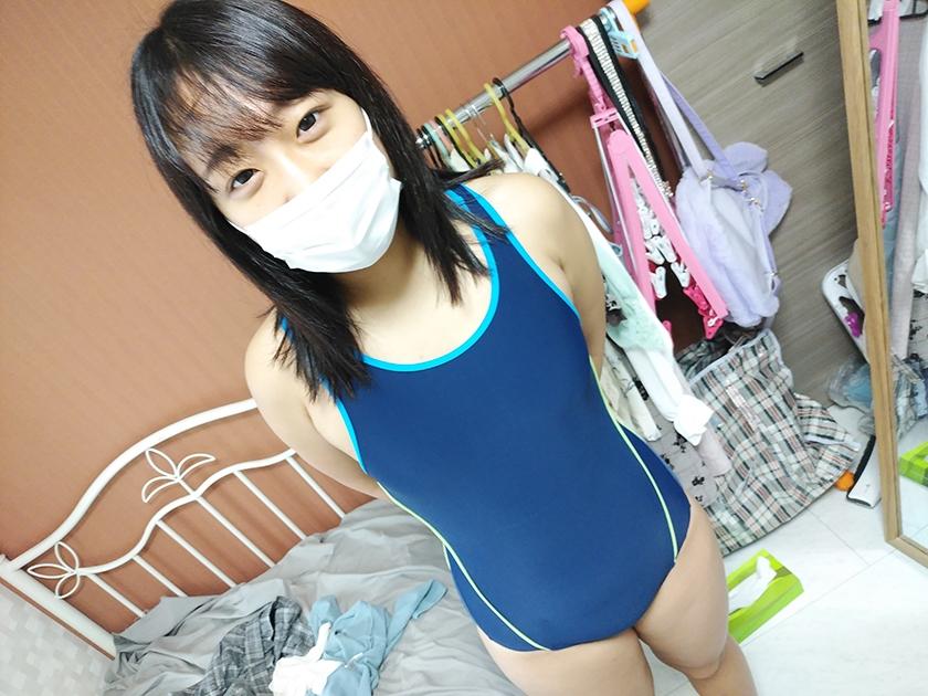 マスク着用を条件に撮影を了承してくれた普通の女子大生 あかねちゃん 21歳7