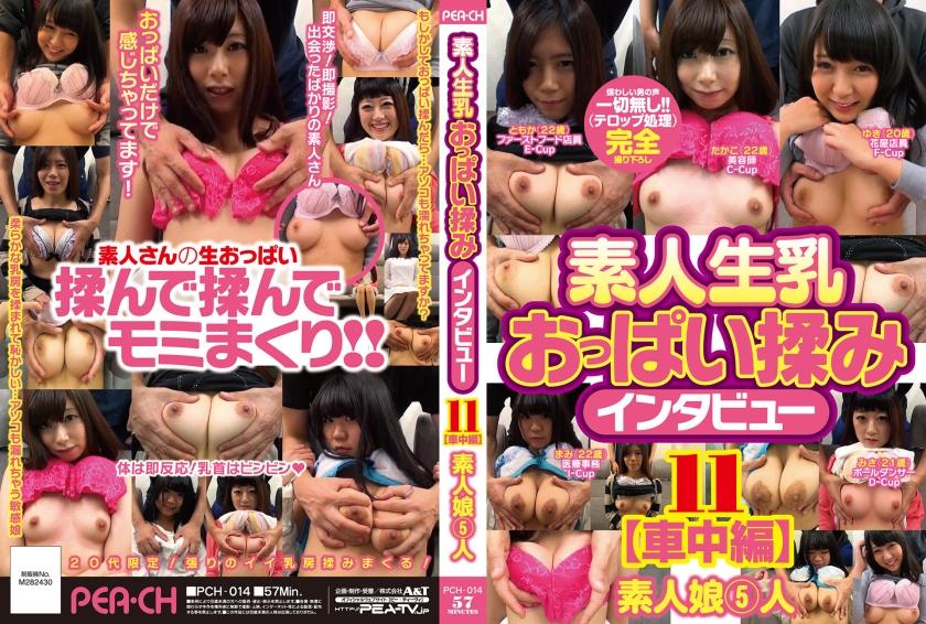 -->[PCH-014] 素人生乳おっぱい揉みインタビュー 11 | JAV | BP4X