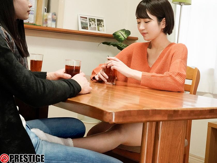 【MGSだけの特典映像付き+15分】彼女のお姉さんは、誘惑ヤリたがり娘。 20 彼女の家に遊びに行ったらお姉さんに迫られイケナイ関係に… 藤江史帆-エロ画像-2枚目