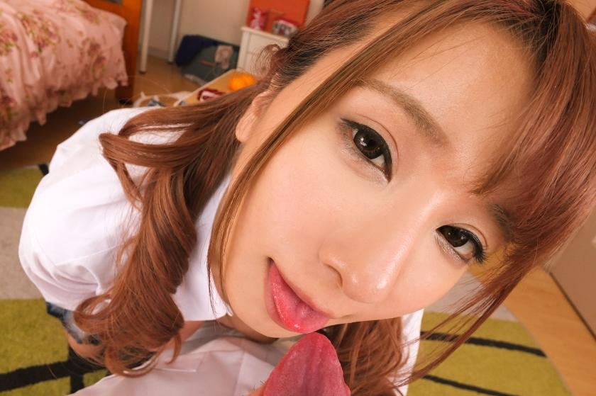 【VR】愛あるキスの嵐!制服カノジョ・園田みおんのイチャラブ密着セックス!!のサンプル画像8
