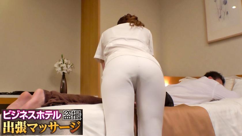 真面目系美巨乳美女が出張マッサージにやって来たら…密室で男女が二人っきり、ナニも起きないはずがない!!:ビジネスホテル盗撮出張マッサージ 002号室