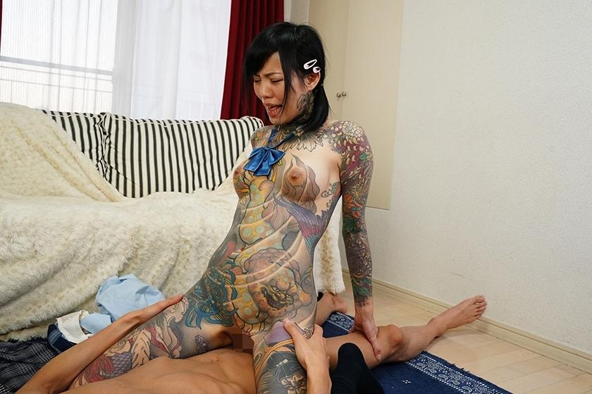 これは凄い!全身和彫の女 桜雅凛のサンプル画像12